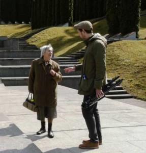 Fania Joheles-Brancovskaja im Gespräch mit dem Autor