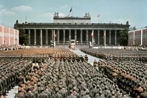 Am 6. Juni 1939 paradierte die aus Spanien zurückgekehrte Legion Condor im Lustgarten