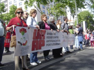 Gedekveranstaltung am 25. April 2014 in Lissabon