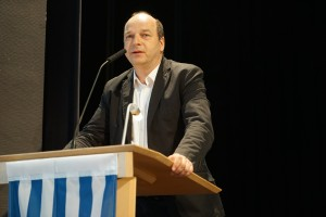 Axel Holz, Vorsitzender der VVN BdA