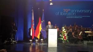 Martin Schulz bei seiner Rede