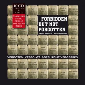 Forbidden but Not Forgotten / Verboten, Verfolgt, Aber Nicht Vergessen! CD-Box-Set, 10 CDs, 23,99 Euro