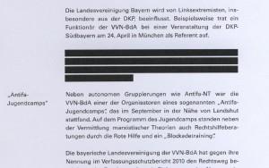 Geschwärzter VS-Bericht Bayern