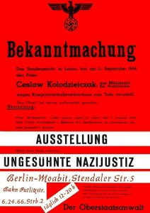 Plakat zur Ausstellung 1966 in West-Berlin. In anderen Städten war es identisch.
