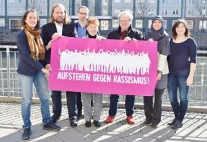 Pressefoto von der Kampagnenvorstellung