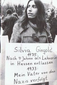 Silvia Gingold 1975