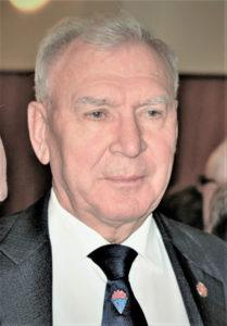 Armeegeneral M.A. Moissejew, Dr. habil. d. Militärwissenschaften, ist Vorsitzender des Russischen Verbandes der Veteranen und Vizepräsident der Internationalen Föderation der Widerstandskämpfer (FIR)