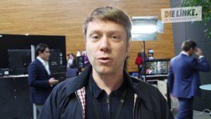 Martin Schirdewan ist Spitzenkandidat der Partei Die Linke bei der Europawahl
