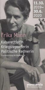Programm-Broschüre zur Ausstellung in München, die bis Juni 2020 läuft.