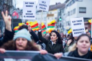 Demonstration in Hanau »Gemeinsam gegen rechten Terror« am 22.02.2020. Foto: Protestfotografie.Frankfurt