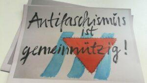 Antifaschismus ist gemeinnützig