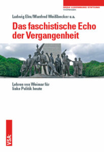 Ludwig Elm, Manfred Weißbecker u.a.: Das faschistische Echo der Vergangenheit. Lehren von Weimar für linke Politik heute. VSA-Verlag 2021, 128 Seiten, 10Euro