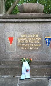 Gedenkstein in Templin (Brandenburg)
