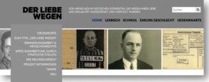 Screenshot Internetseite der-liebe-wegen.org