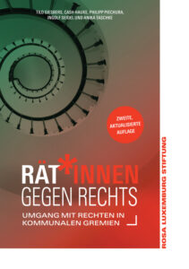 Tilo Giesbers ist Koautor der soeben in einer Neuauflage erschienenen Broschüre »Rät*innen gegen Rechts. Umgang mit Rechten in kommunalen Gremien«.